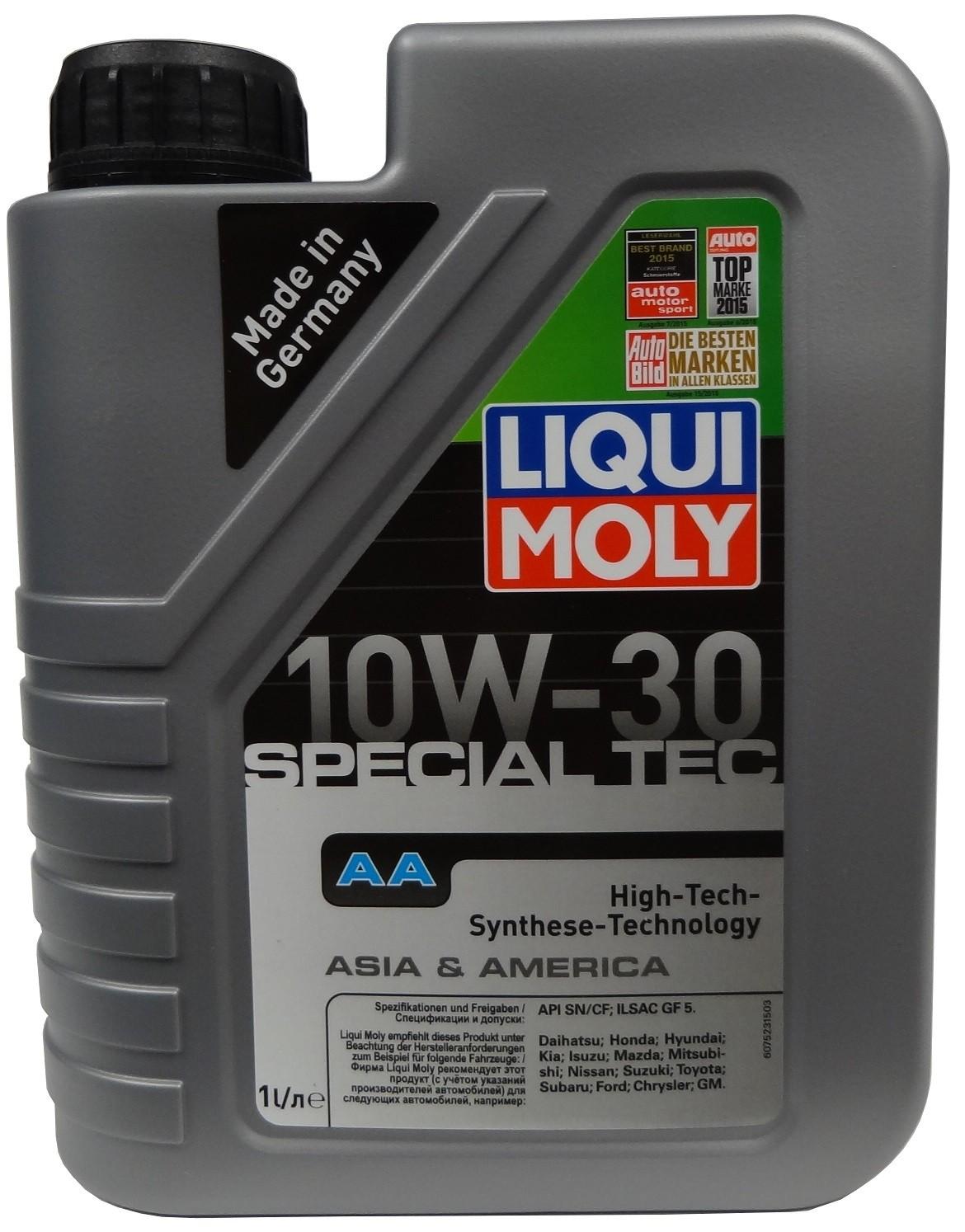 LIQUI MOLY SPECIAL TEC AA 10W-30 1L
