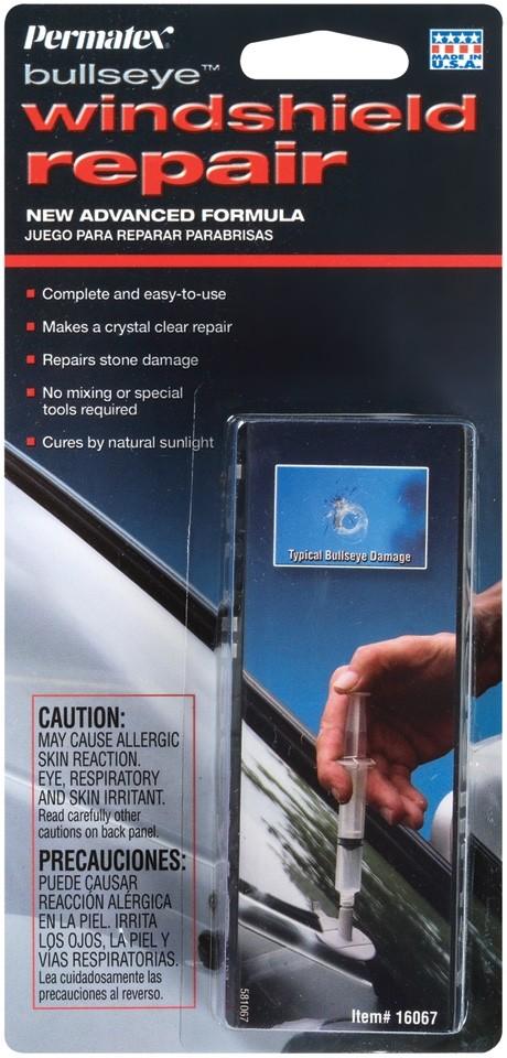 Permatex Bullseye Windshield repair kit