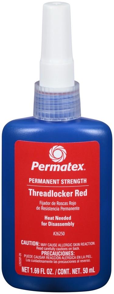 Permatex Threadlocker Red Permanent Strength 50ml