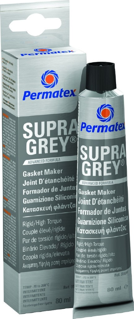 Permatex Supra Grey RTV Gasket Maker 80ml