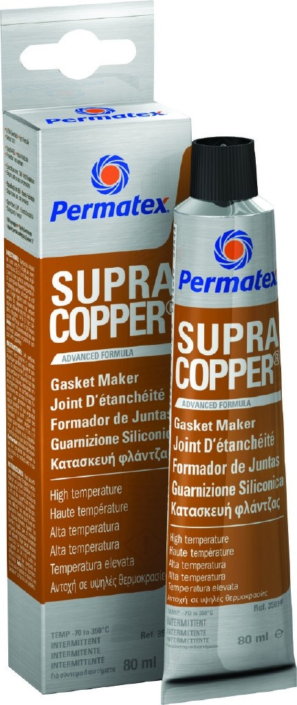 Permatex Ultra Copper RTV Silicone Gasket  80ml