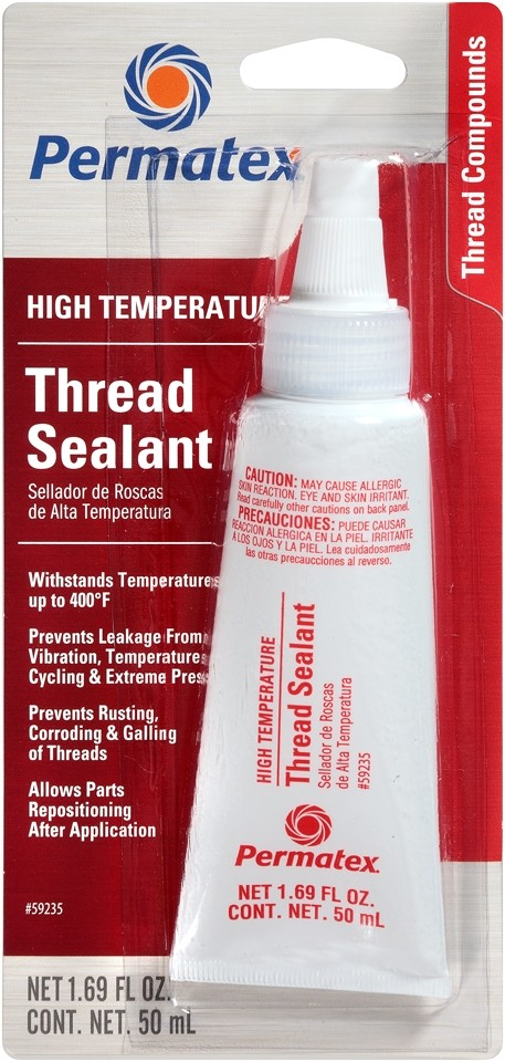 Permatex High Temperature Thread Sealant 50ml