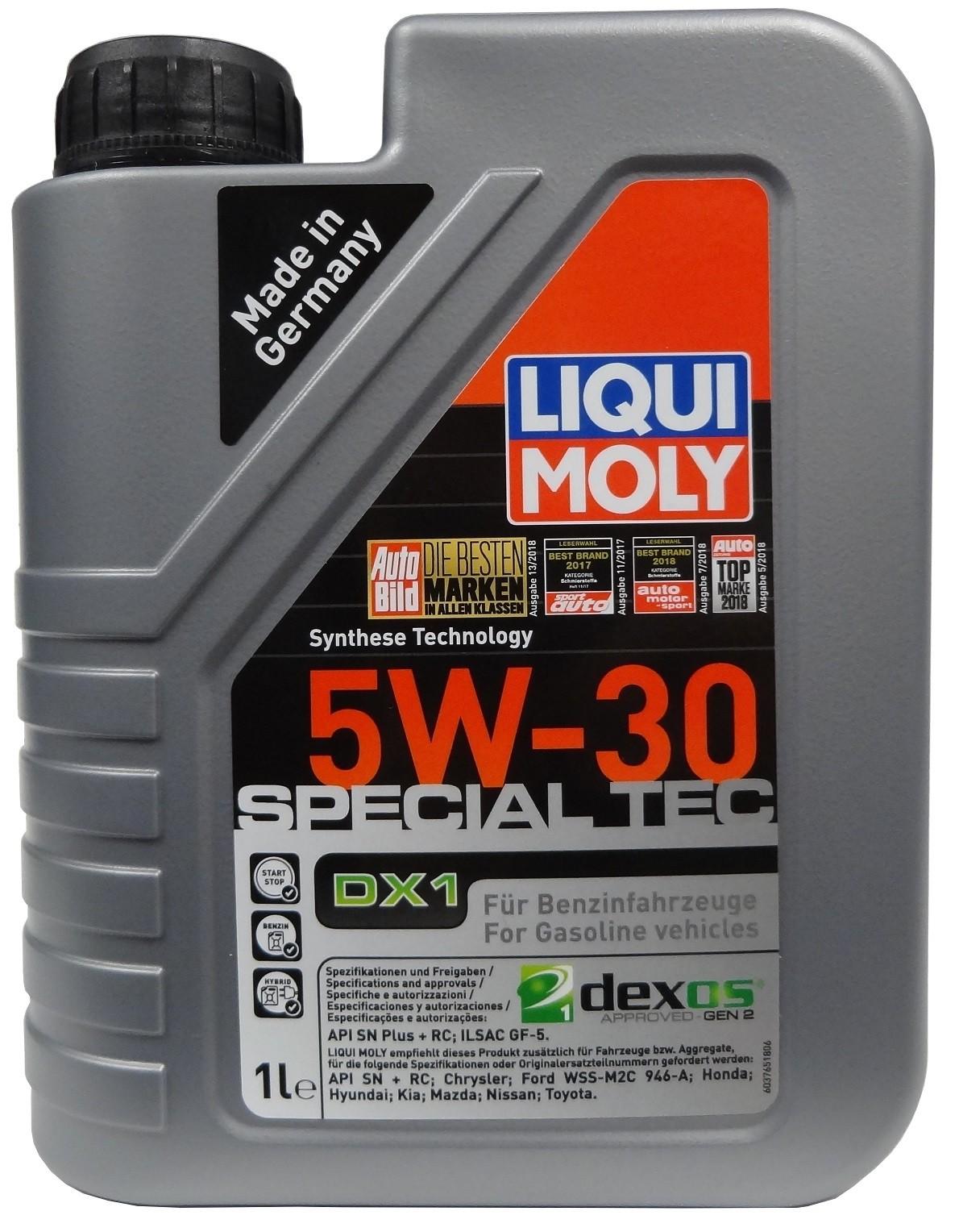 LIQUI MOLY SPECIAL TEC DX1 5W-30 1L