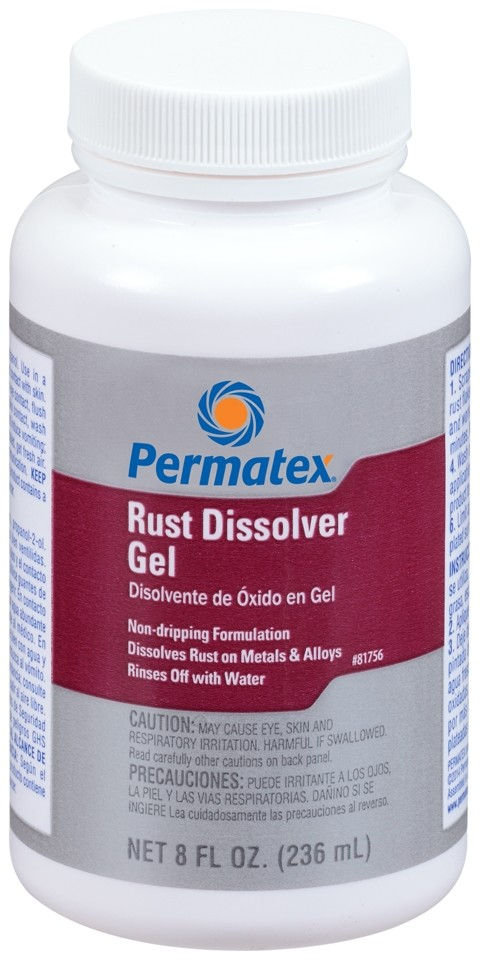 Permatex Rust Dissolver Gel 236ml