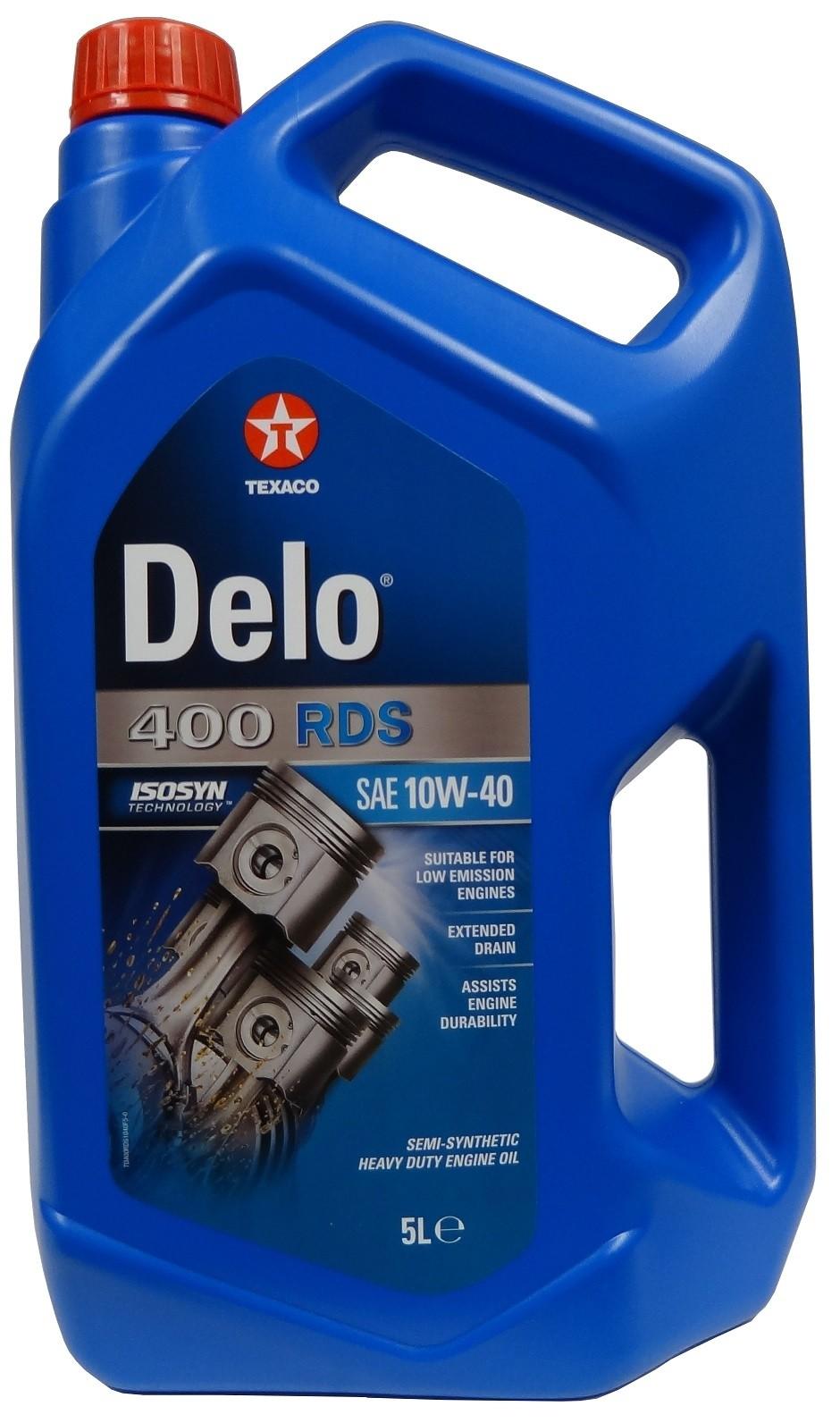 TEXACO DELO 400 RDS 10W-40 5L