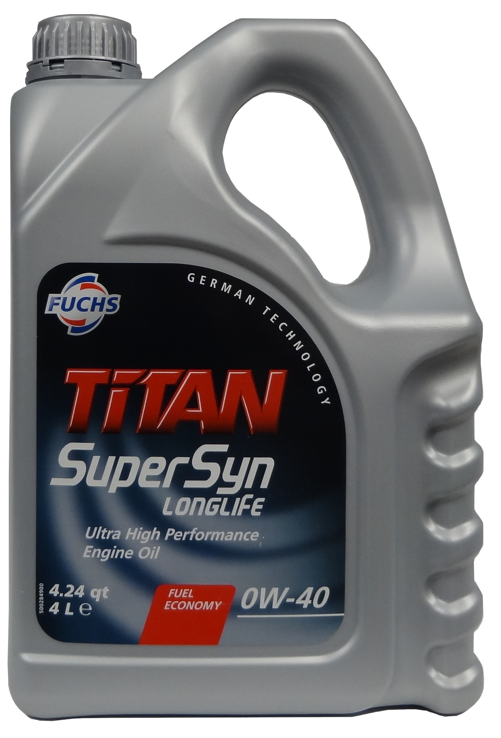 FUCHS TITAN SUPERSYN LONGLIFE 0W-40 4L