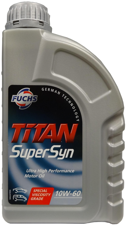 FUCHS TITAN Supersyn SAE 10W-60 1L