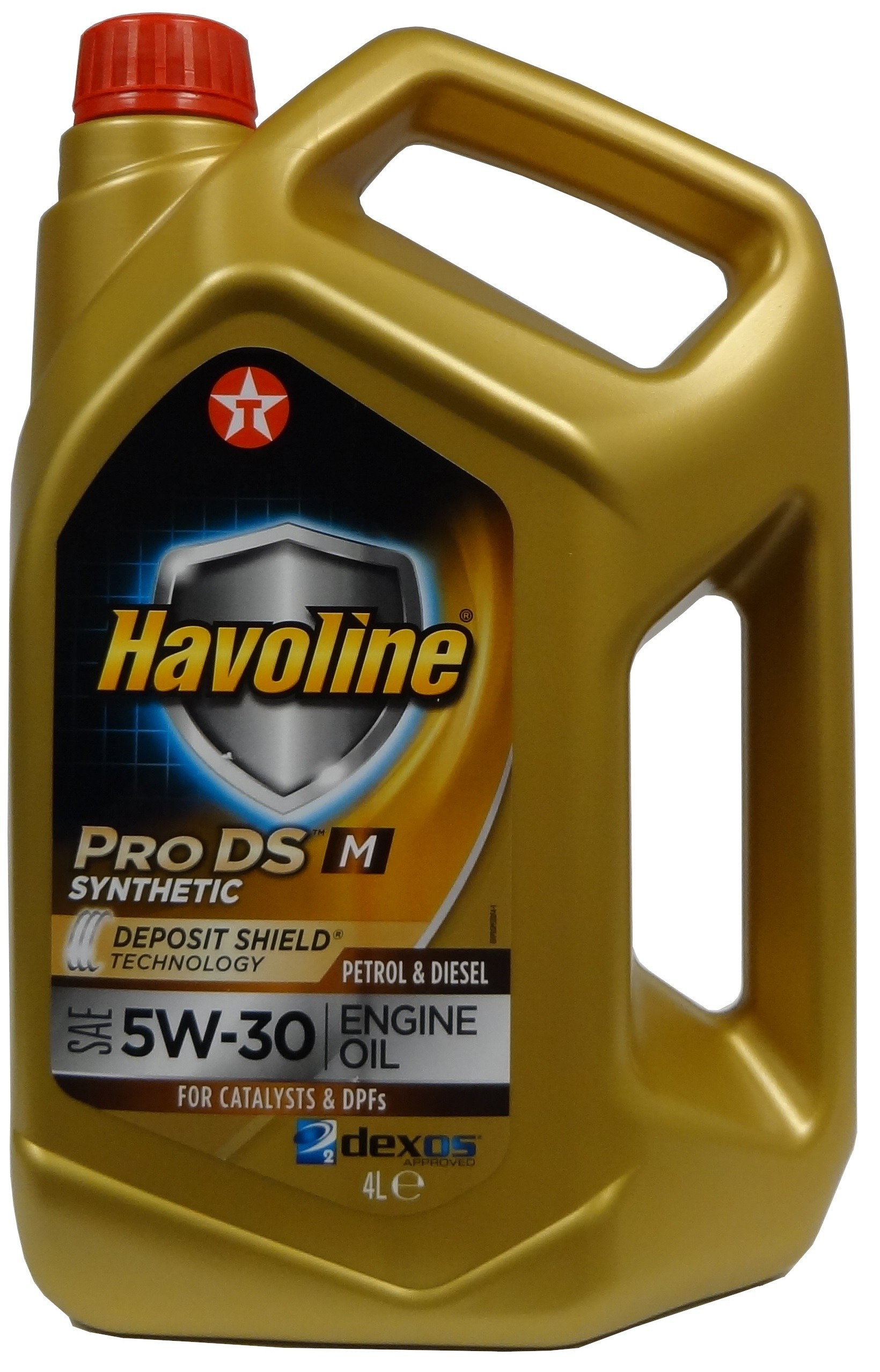 TEXACO HAVOLINE ProDS M 5W-30 4L