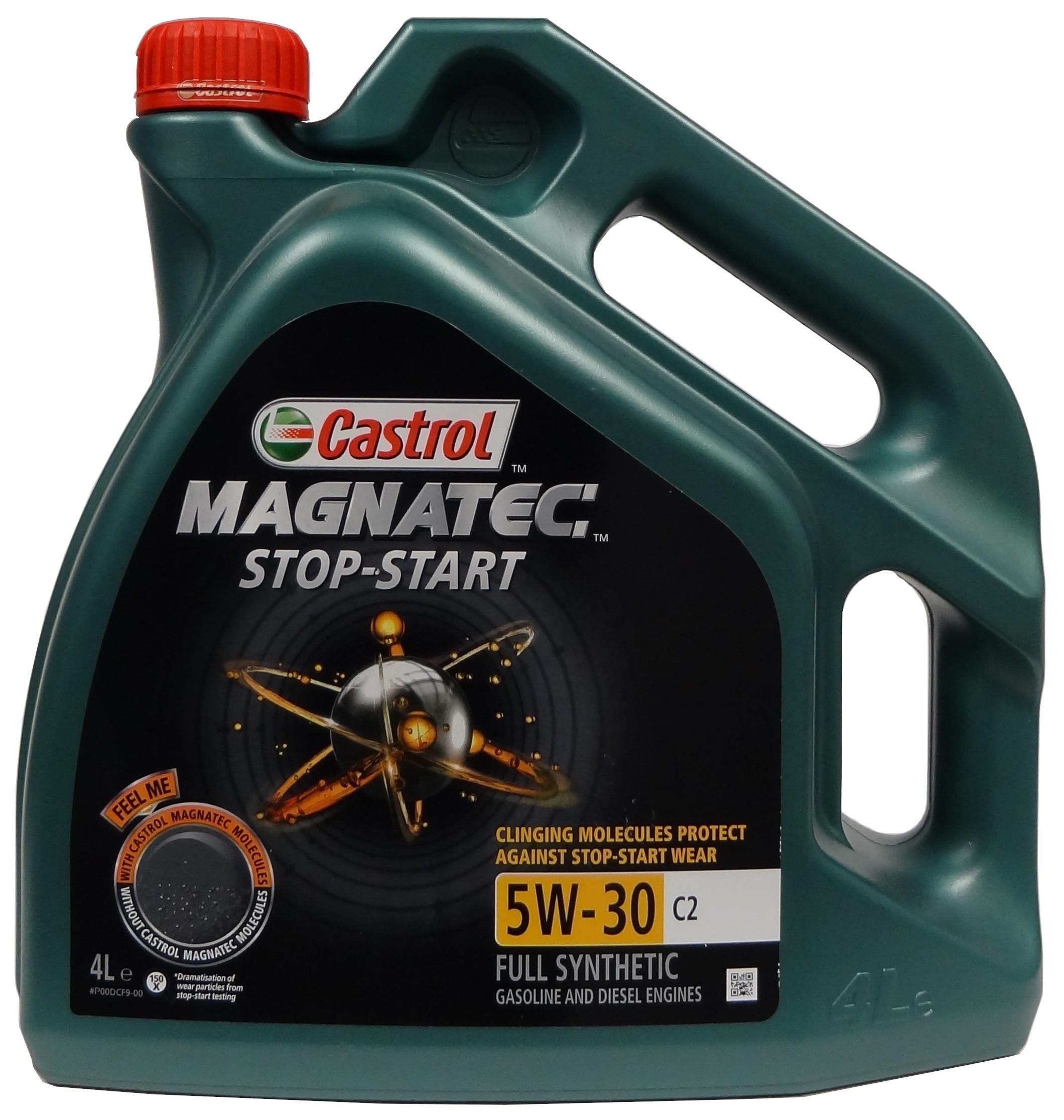 CASTROL Magnatec 5W-30 C2 Stop-Start 4L