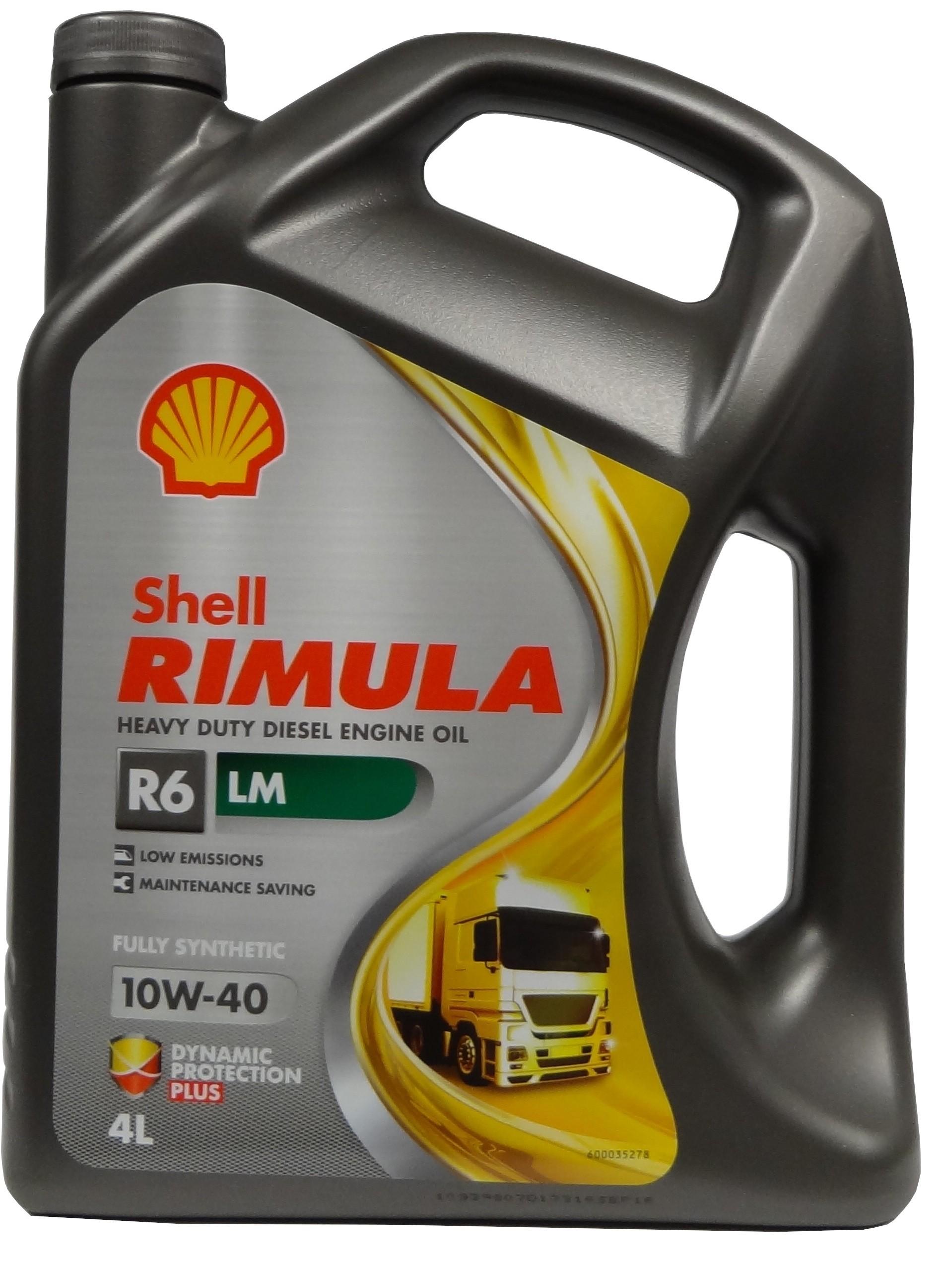 SHELL RIMULA R6 LM 10W-40 4L