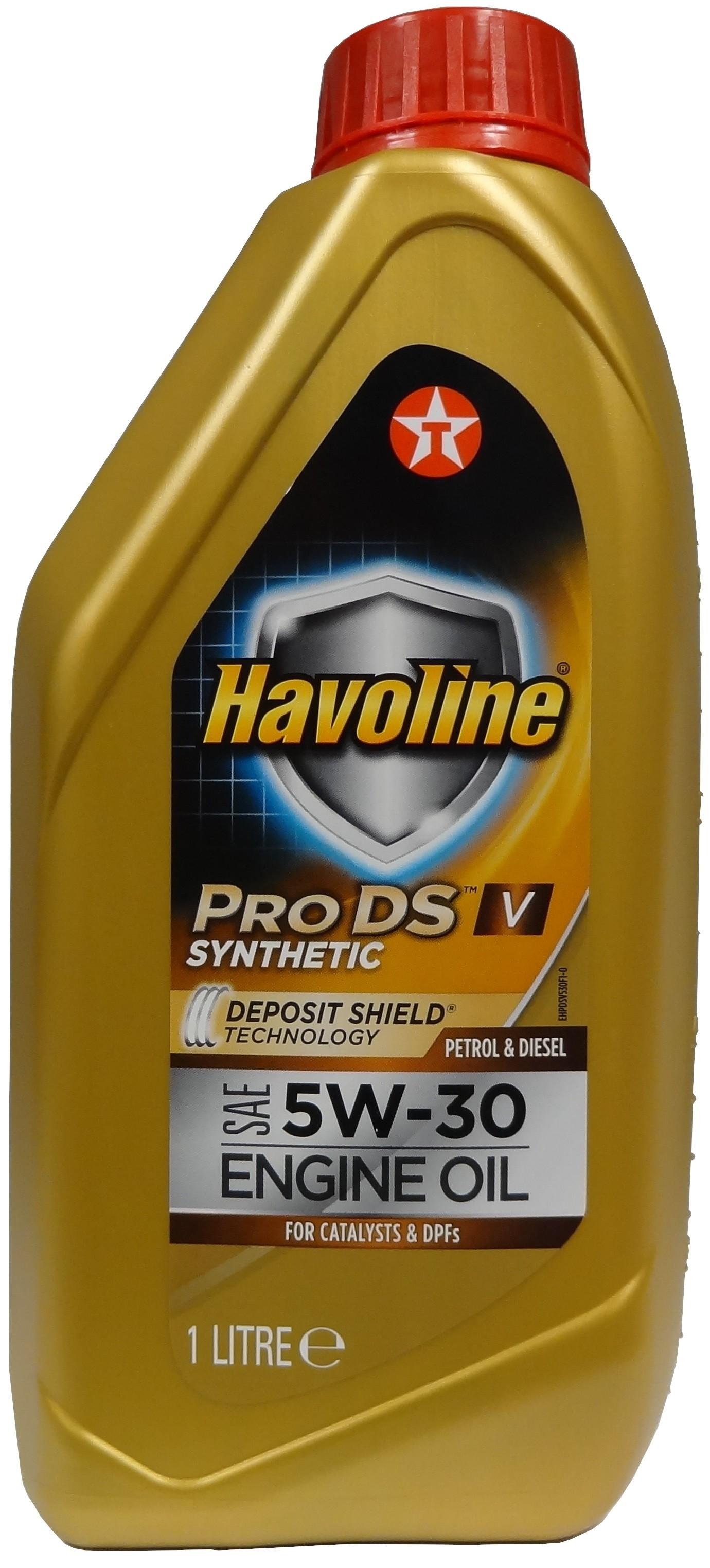 TEXACO HAVOLINE ProDS V 5W-30 1L
