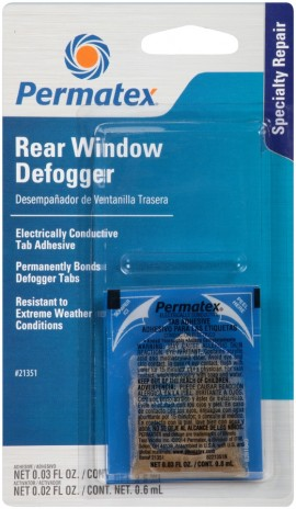 Permatex Rear Window Defogger Tab Adhesive 0.6ml