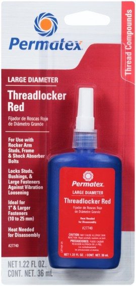 Permatex Threadlocker Red Large Diameter 36ml
