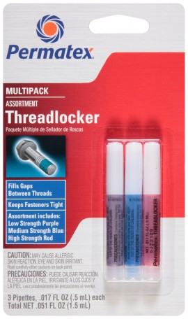 Permatex Threadlocker Multipack 3x5ml