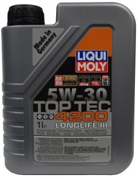 LIQUI MOLY TOP TEC 4200 5W-30 LONGLIFE III 1L