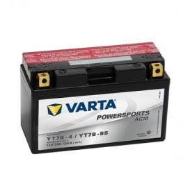 VARTA ΜΠΑΤΑΡIΑ MOTO YT7B-BS (7Ah/120A) 150x66x94