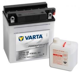 VARTA ΜΠΑΤΑΡIΑ MOTO YB10L-B (11Ah/150A) 136x91x146