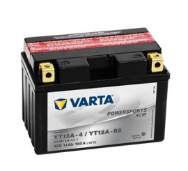 VARTA ΜΠΑΤΑΡIΑ MOTO YT12A-BS (11Ah/160A) 150x88x105