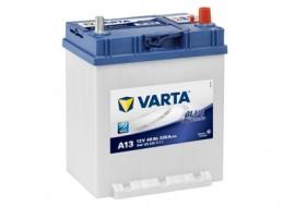 VARTA BLUELINE ΔΕΞ. ΜΠΑΤΑΡΙΑ A13 (με πατούρα) (40Ah/330A) 187x140x227mm
