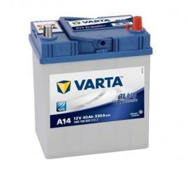 VARTA BLUELINE ΔΕΞ. ΜΠΑΤΑΡΙΑ Α14 (40Ah/330A) 187x127x227mm