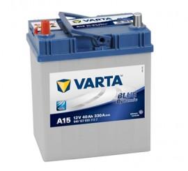 VARTA BLUELINE ΑΡΙΣΤ.(ψιλός) ΜΠΑΤΑΡΙΑ A15 (40Ah/330A) 187x127x227mm