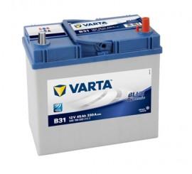 VARTA BLUELINE ΔΕΞ. (ψιλός) ΜΠΑΤΑΡΙΑ B31 (45Ah/330A) 238x129x227mm
