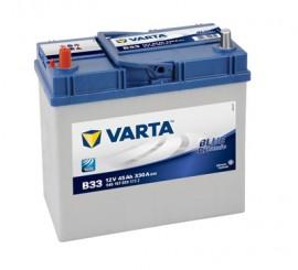 VARTA BLUELINE ΑΡΙΣΤ.(ψιλός) ΜΠΑΤΑΡΙΑ Β33 (45Ah/330A) 238x129x227mm