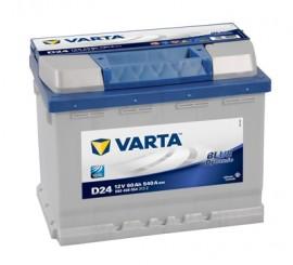 VARTA BLUELINE ΔΕΞ. ΜΠΑΤΑΡΙΑ D24 (60Ah/540A) 242x175x190mm