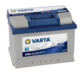 VARTA BLUELINE ΔΕΞ. ΜΠΑΤΑΡΙΑ D59 (60Ah/540A) 242x175x175mm