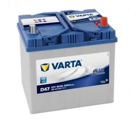 VARTA BLUELINE ΔΕΞ. ΜΠΑΤΑΡΙΑ D47 (60Ah/540A) 232x173x225mm