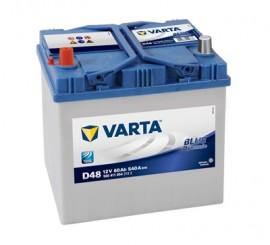 VARTA BLUELINE ΑΡΙΣΤ. ΜΠΑΤΑΡΙΑ D48 (60Ah/540A) 232x173x225mm