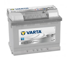 VARTA SILVERLINE ΔΕΞ. ΜΠΑΤΑΡΙΑ D15 (63Ah/610A) 242x175x190mm
