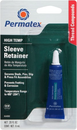 Permatex Hi-Temperature Sleeve Retainer 6ml
