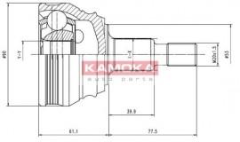 ΜΠΙΛΙΟΦΟΡΟΣ KAMOKA 6680