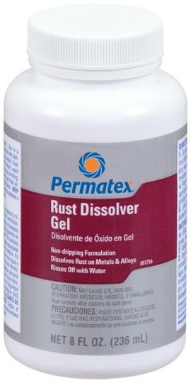 Permatex Rust Dissolver Gel 236ml