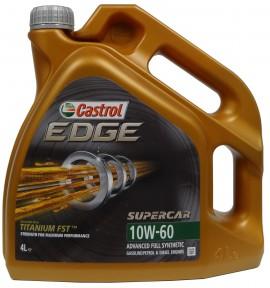 CASTROL EDGE 10W-60 Supercar 4L