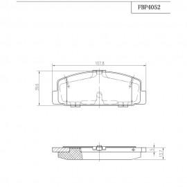 ΤΑΚΑΚΙΑ ΠΙΣΩ FI.BA FBP4052