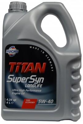 FUCHS TITAN SUPERSYN LONGLIFE 5W-40 4L