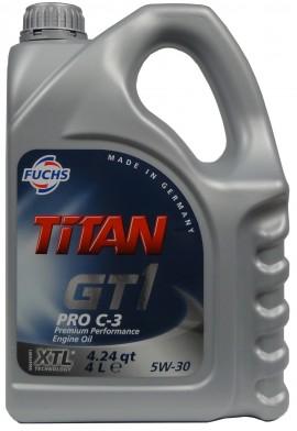 FUCHS TITAN GT1 PRO C-3 XTL 5W-30 4L