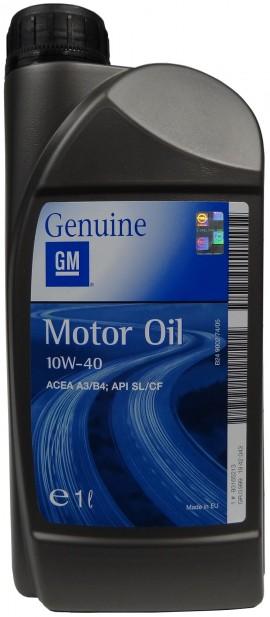 GM MOTOR OIL 10W-40 1L