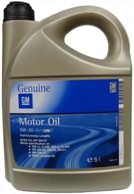 GM MOTOR OIL 5W-30 5L