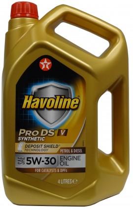 TEXACO HAVOLINE ProDS V 5W-30 4L