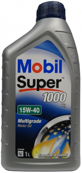 MOBIL SUPER 1000 X1 15W-40 1L