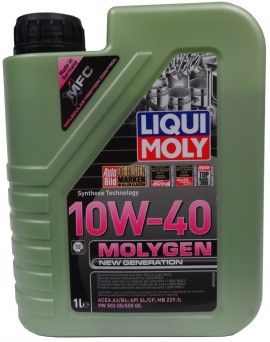 LIQUI MOLY Molygen New Generation10W40 1L