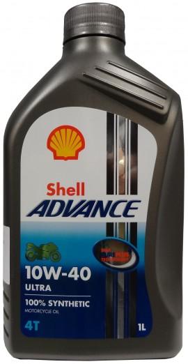 Shell Advance Ultra 10W-40 4T 1L