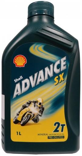 Shell Advance SX 2T 1L