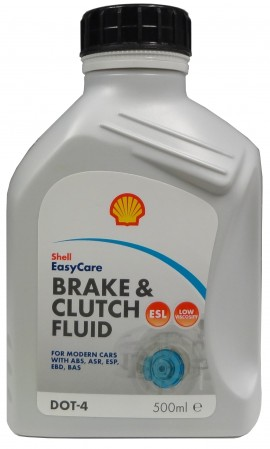 SHELL BRAKE & CLUTCH FLUID DOT 4 ESL 500ML