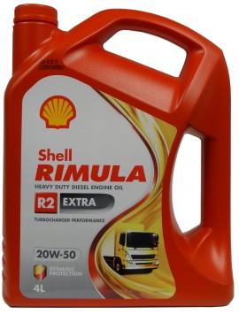 Shell Rimula R2 Extra 20W-50 4L