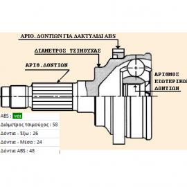 ΜΠΙΛΙΟΦΟΡΟΣ YAC TA-38-02SN