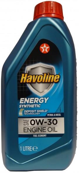 TEXACO HAVOLINE ENERGY 0W-30 1L